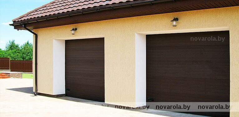 ворота гаражные ролетные б