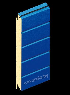 Синий RAL 5010.